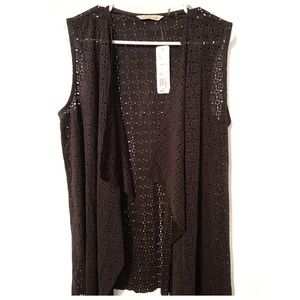 Soft Surroundings Black Ultra Soft Vest